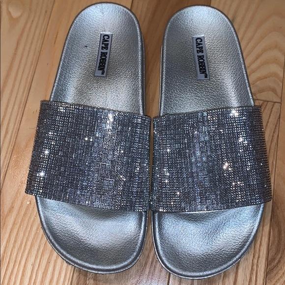 Cape Robbin Shoes | Glitter Slides